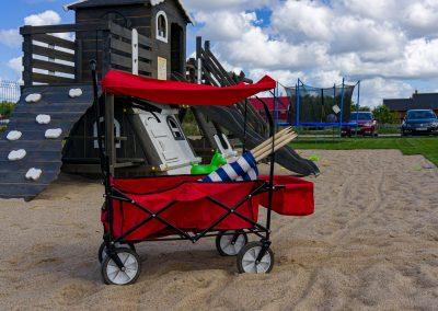 Domki letniskowe nad morzem – Linowe Domki - wózzek plażowy